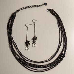 Talbots necklace, Banana Republic Earrings